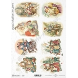 ITD A4 rice paper - R1009 Christmas