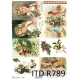 ITD A4 rice paper - Christmas R789