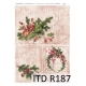 ITD A4 rice paper - Christmas R187