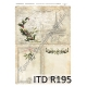 ITD A4 rice paper - Christmas R195