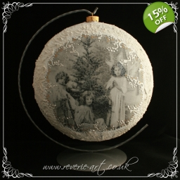 Angels 1 - medallion Christm..