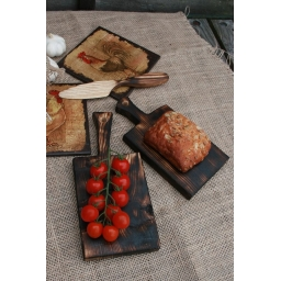 Set of 2 serving boards  - H..