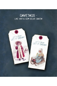 "Gavetags -  ""Let it sno.."