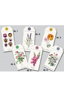 Blomster tags, serie
