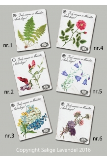 Blomster tags