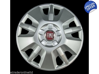 "SINGLE 15"" Genuine Fiat Ducato Wheel Trims 2015 Design."