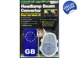 Headlamp Beam Converter