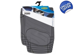 Ring Dura Shield  2000 Car Mat Set Grey