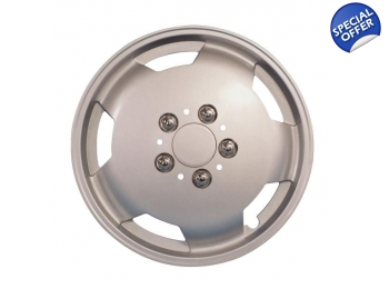 "Fiat Ducato Motorhome Wheel Trims 15"" Silver"