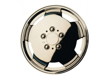 "16"" Chrome Plated Van Wheel Trims"