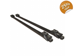 Streetwize Lockable Universal Roof Bars
