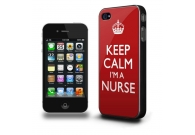 IPHONE 5 CASE - KEEP CALM I´M A NURSE