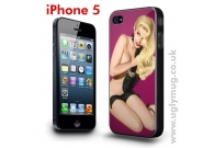 IPHONE 5 CASE - BLONDE PIN UP GIRL