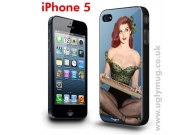 IPHONE 5 CASE - PIN UP GIRL CIGARETTE ..