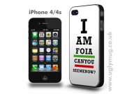 I AM FOIA IPHONE 4/S CASE