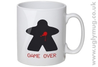 GAME OVER MEEPLE MUG