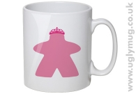 THE MEEPLES PRINCESS MUG