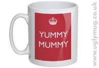 Yummy Mummy - Mug - Red
