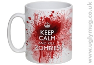 KEEP CALM AND KILL ZOMBIES - Mug