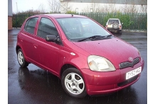 2002 Toyota Yaris VVTi Colour Collect Hatchback 998cc