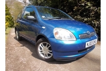 2003 Toyota Yaris 3 Door 1.0 VVT-i Colour Collection, 76 k