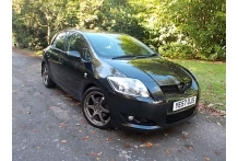 2007 TOYOTA AURIS T180 D-CAT 5 DOOR BLACK///sold///sold