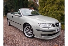 Saab 9-3 2.0 T Aero Convertible///SOLD///SOLD///