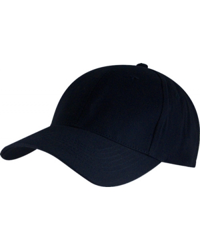 Superior 6 Panel Brush Cotton Cap, Wholesale, 18 colours.