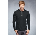 Anvil Long Sleeve Hooded T