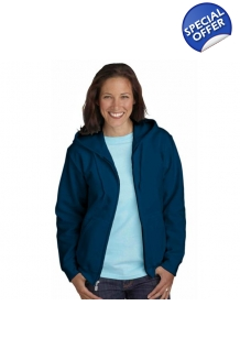 Ladies Fit Full Zip Hoode..