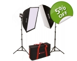 Fluorescent Soft Box Kit LIT111