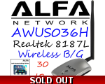AWUS036H 1000mw Wirelesss USB Network adapter Al..