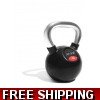 Chrome/rubber Kettlebell 12KG with FRE..