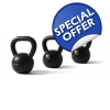 Mens Beginners Kettlebell Set with FRE..
