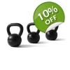Womens Beginners Kettlebell Set with F..