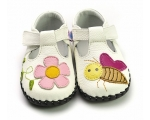Honey - white - baby shoes