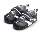 Team Racer - Black/Navy - baby shoes