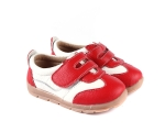 Grasshopper - red - toddler shoes