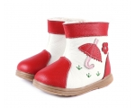 Tadpole - red -  toddler boots