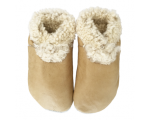Slinkskin - Wool - Natural - baby shoes