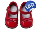 Marilyn - red - baby shoes