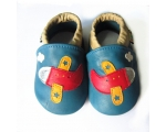 Planes - softies - baby shoes