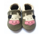 Mooo cow - softies - baby shoes