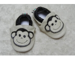 Monkey - softies - baby shoes