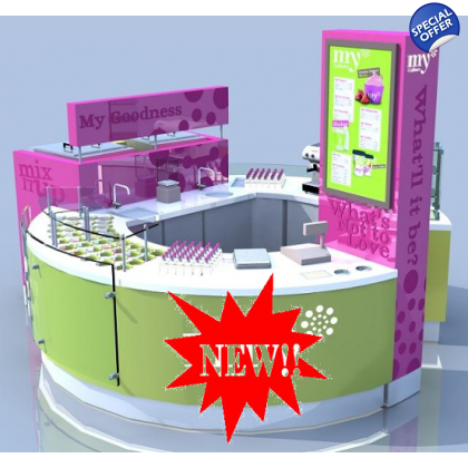 A1 Modular Yogurt Shop