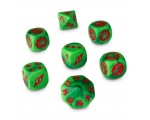 The Gouged Eye Dice Set