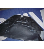 Husqvarna seat cover 1975 to 1979 blk