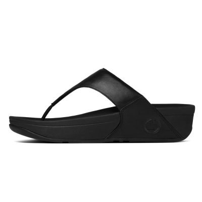 Fitflop Lulu Leather Black