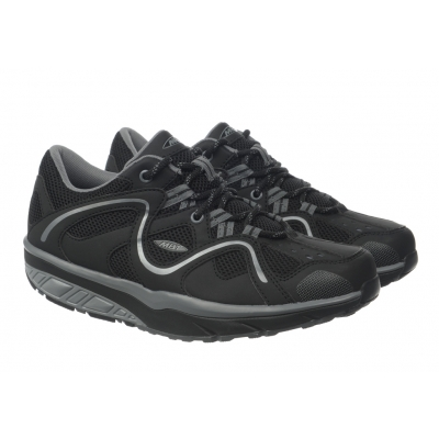 MBT TARAJI LACE-UP SPORT Black/Silver/Steel