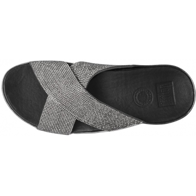 Fitflop Crystall Slide Pewter